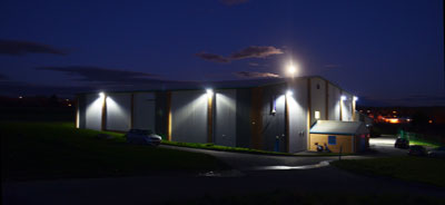 Marl Floodlights at Hoops Basketball Centre